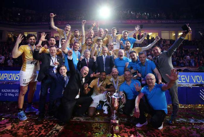 Champions League: Kazan once more Europe's best!!!