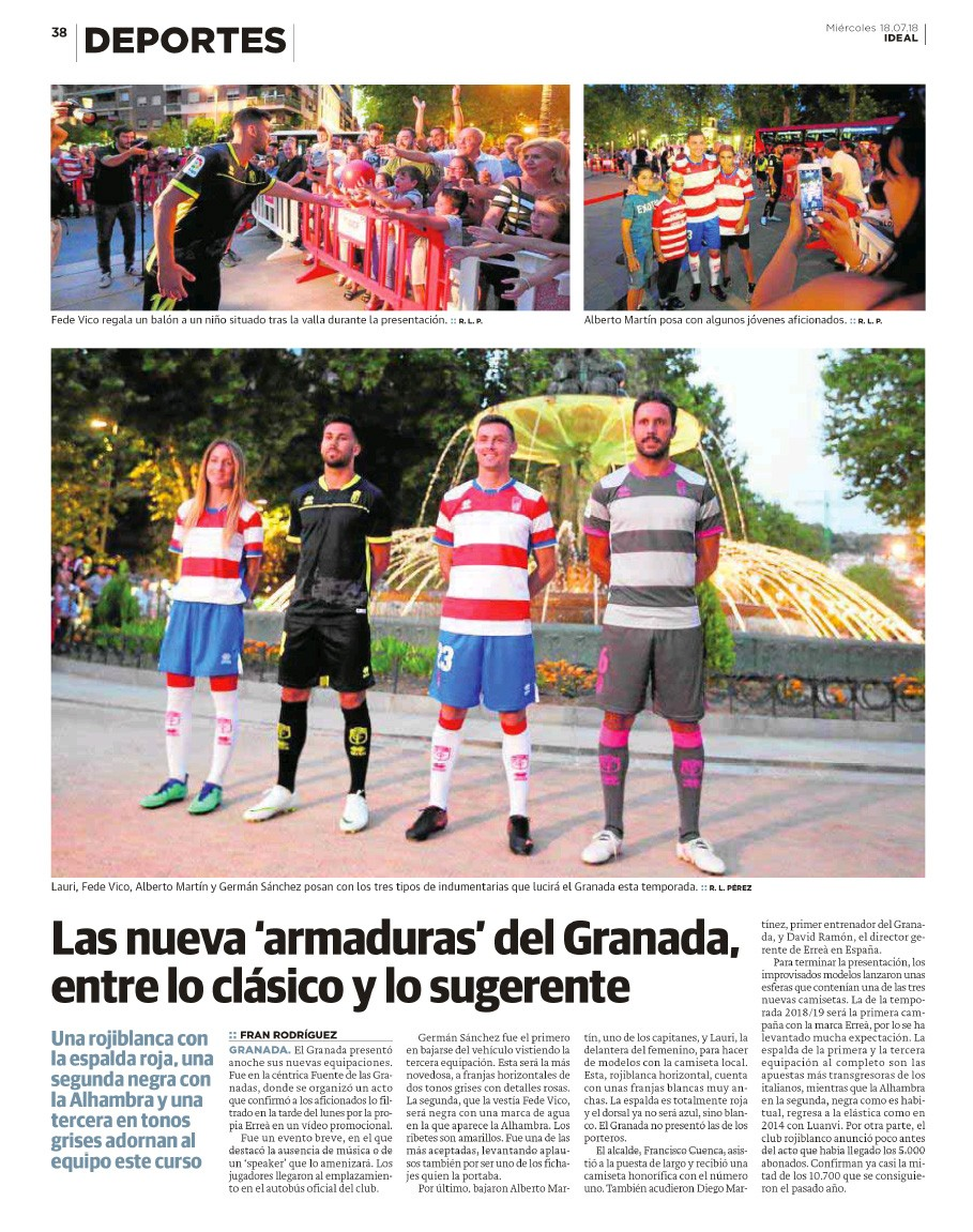 Deportes - 18 July 2018