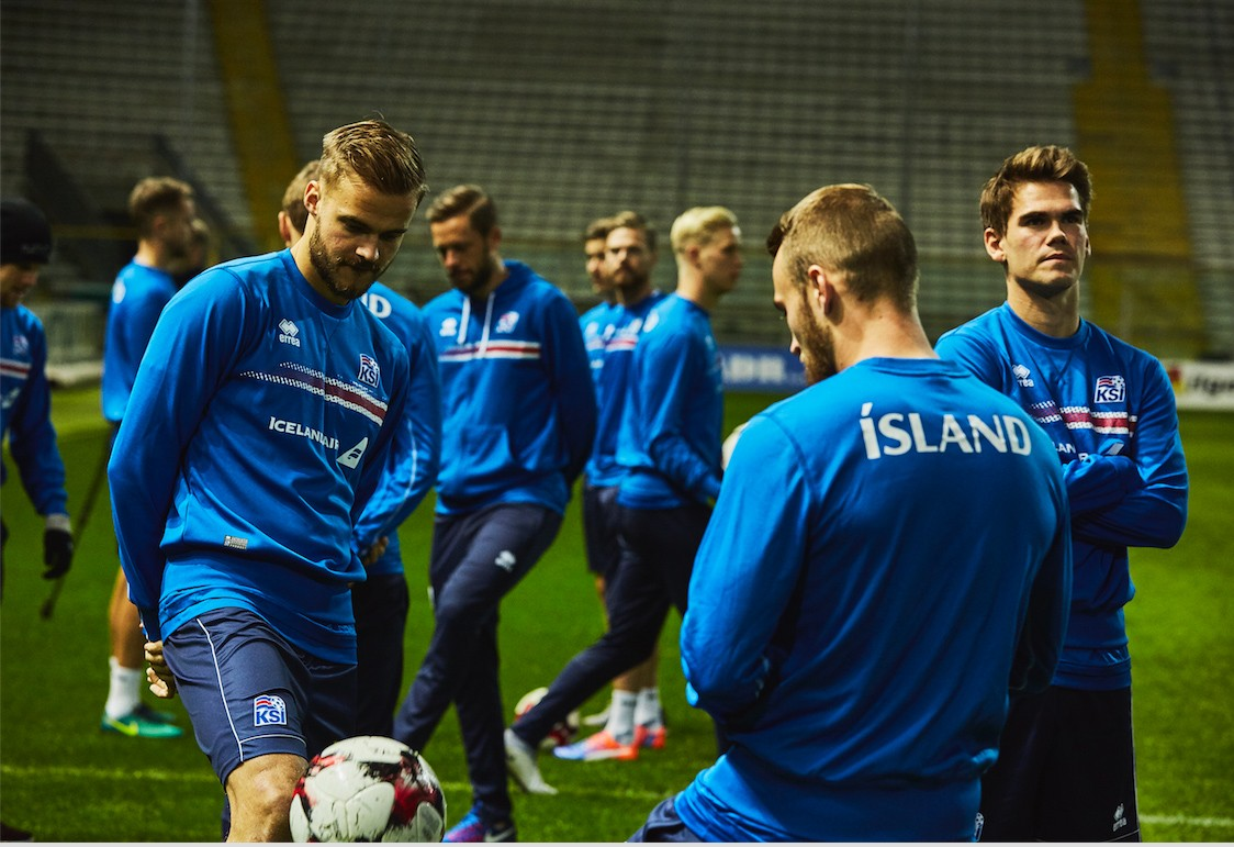 Iceland beats Ukraine to join Croatia at the top of the group
