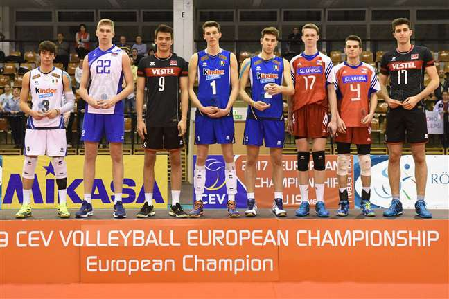 Italy wins silver in the Under 19 European Volleyball Championship - Men!
