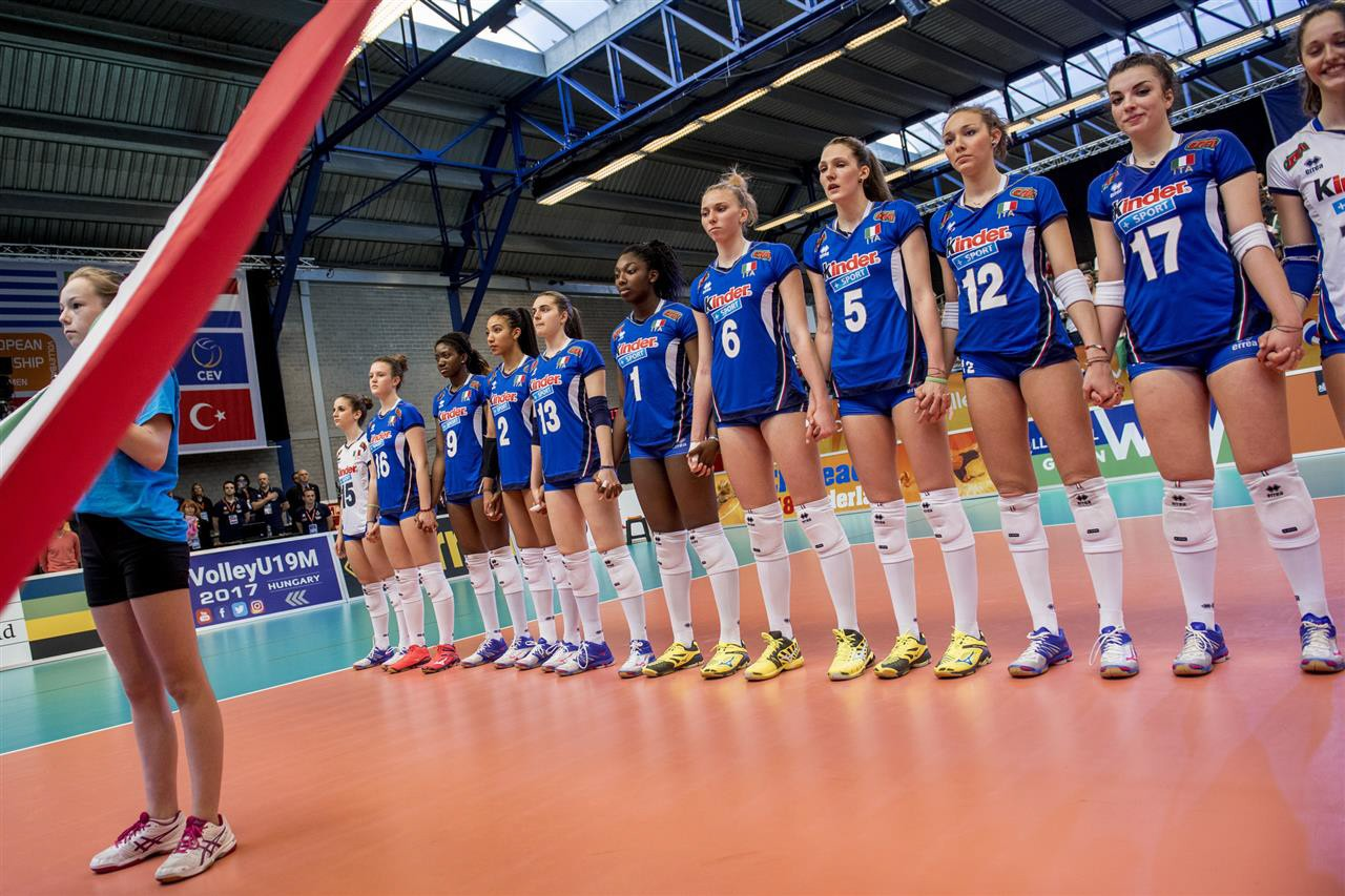 Italy's Under-18s: silver medallists in the final of the Europeans Championship!