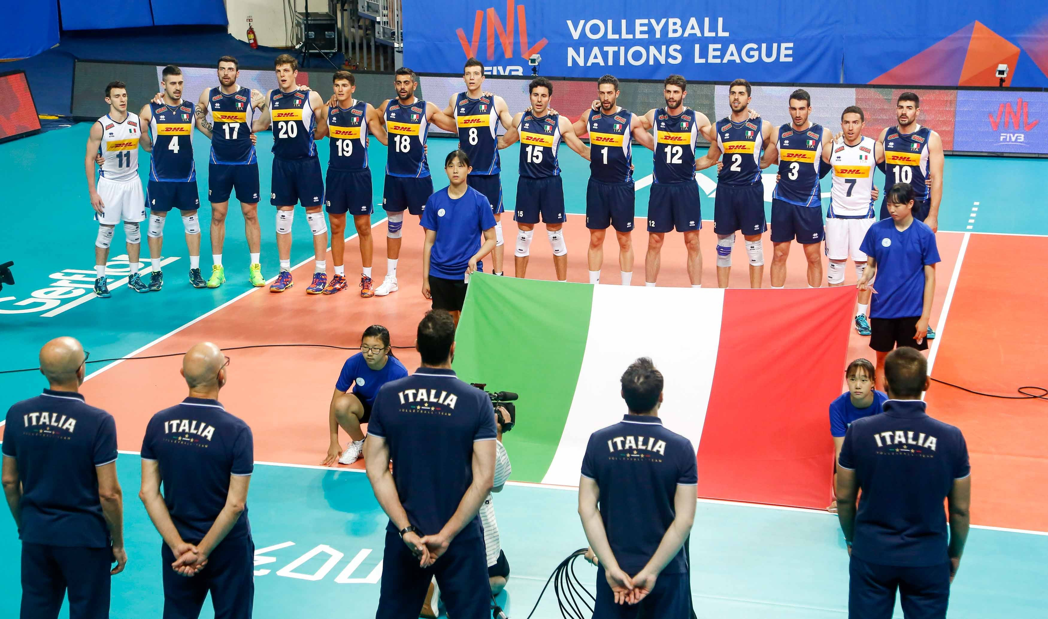 Men's Volleyball Nations League - from 22 to 24 June play moves to Modena, with the big names Italy, France, USA and Russia