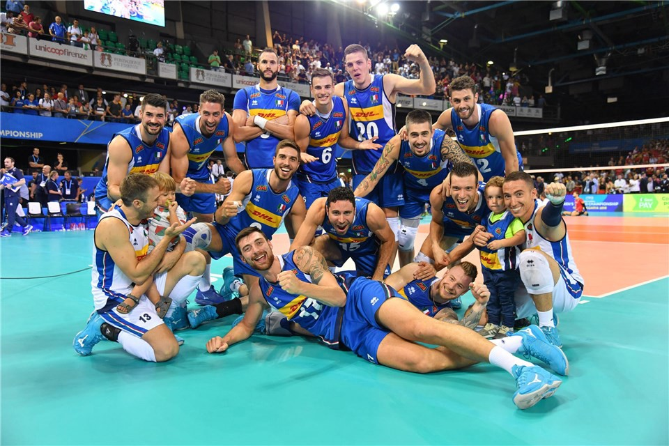 Men's World Championship 2018: Italy trounces Belgium 3-0! Here are our national teams' matches for the weekend