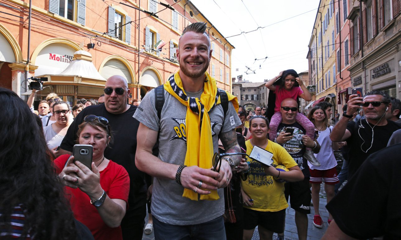 "Modena Volley presents ""Tsar"" Ivan Zaytsev!"