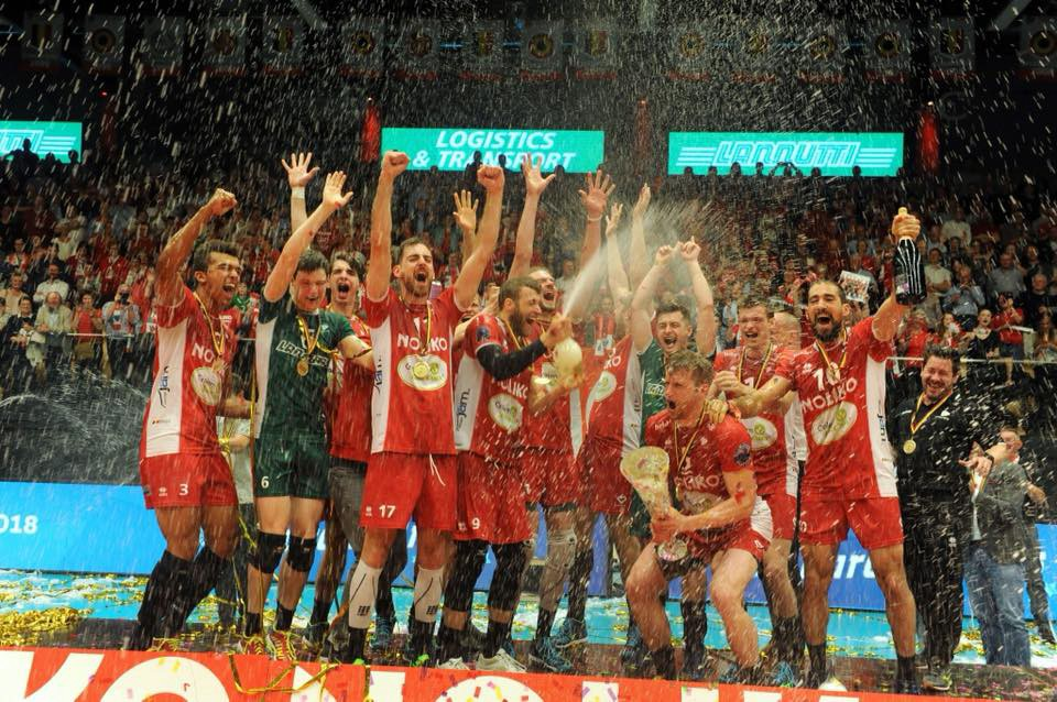 Noliko Maaseik are Belgian Champions for the 15th time!