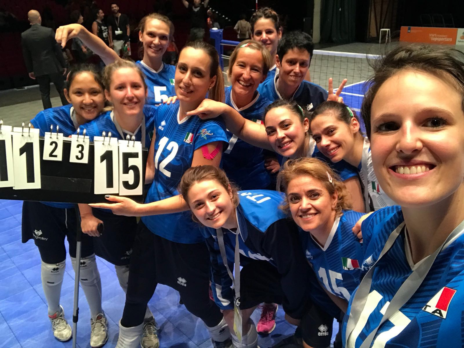 Sitting Volleyball: Italy reach the World Championship semifinals!
