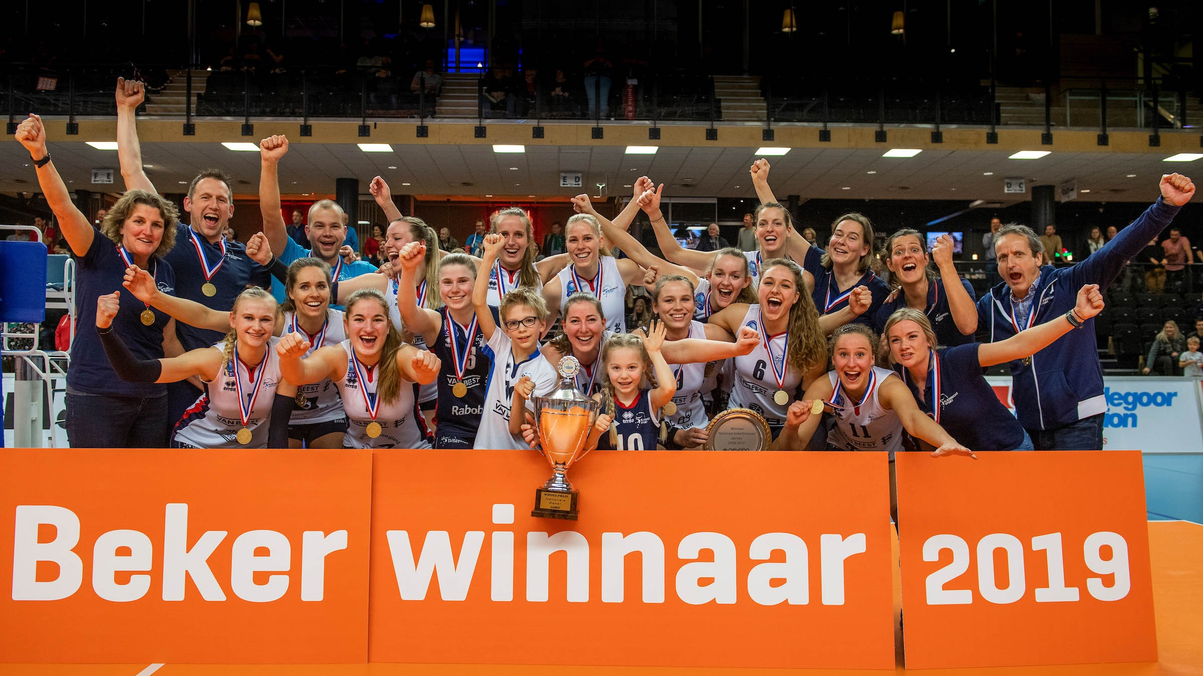 Sliedrecht Sport are crowned Dutch Champions for the second year in a row!