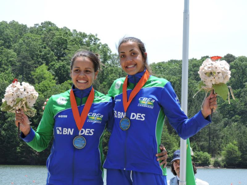 Stunning successes for Brazil's national rowing team at the Pan American Championships!