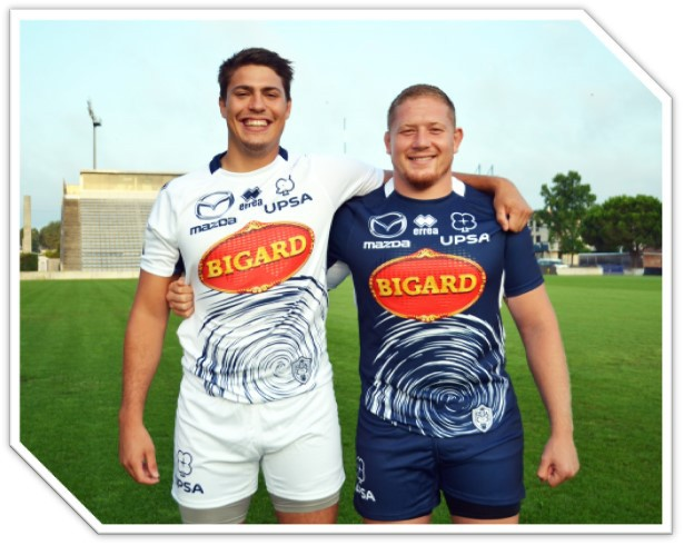 S.U. Agen Rugby and Erreà unveil the new match kits for the forthcoming Top 14 season
