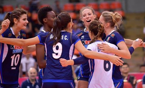 The Women's European Volleyball Championship is being held in Azerbaijan and Georgia from 22 September to 1 October