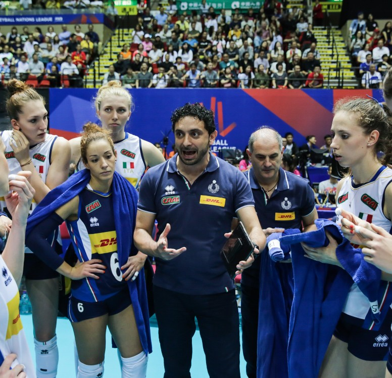 Women's Volleyball Nations League: in Eboli the Italian national side will be playing for a qualification place to the Final Six!
