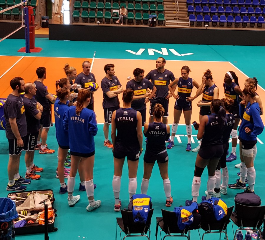 Women's Volleyball Nations League: the Rotterdam pool has begun, then comes the Italian pool in Eboli!