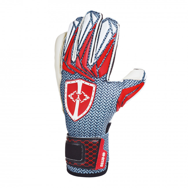 ZERO THE WARRIOR GLOVES AD BIANCO ROSSO - ERREÀ