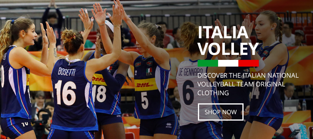 Errea Nazionale Volley Italia - shop now